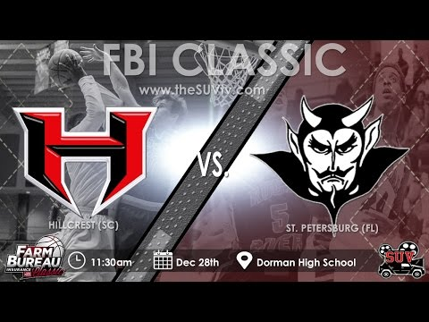 2016 Farm Bureau Insurance Classic: St. Petersburg (FL) vs. Hillcrest (SC)