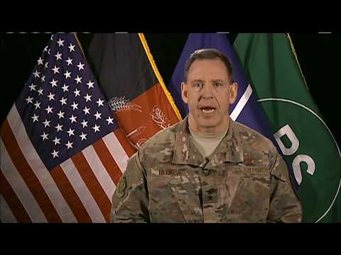 Battle For Afghan: 2/7/18. NATO Air Commander Update On Ops To Eliminate Terrorists.