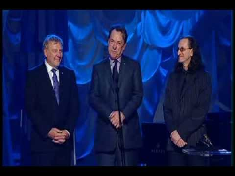 Rush is inducted into the Canadian Songwriters Hall of Fame (CSHF)