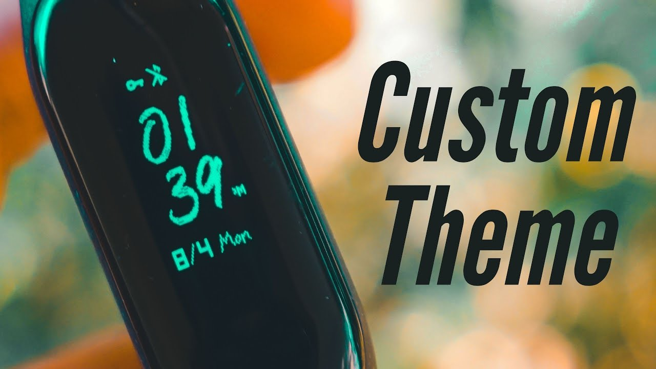 Mi Band 3 | How To Flash Custom Firmware Amazing New Theme Resources