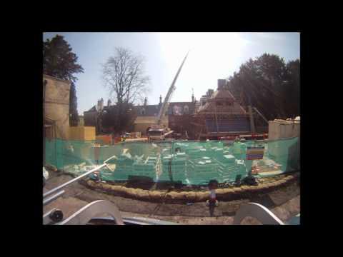 Doddington Aerials Rope Access Team Install Chimney Stacks At Stamner Park Brighton