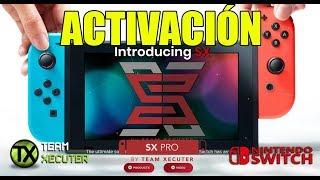 TUTORIAL ACTIVACIÓN SX OS PRO TEAM XECUTER - NINTENDO SWITCH