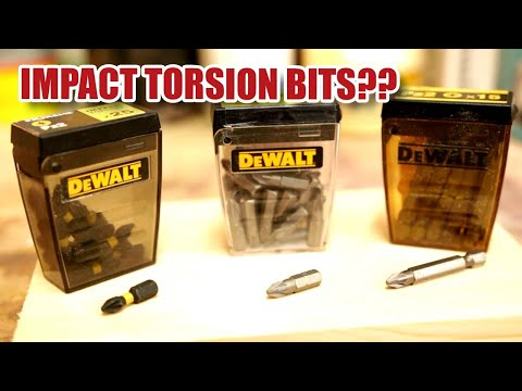 What's Happened To DeWALT Impact Torsion Screwdriver Bits? [104]