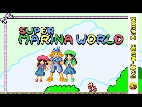 Super Marina World • Super Mario World ROM Hack