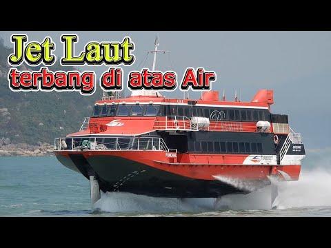 Kapal Super Cepat Jet foil Boeing 929 - Jet hydrofoil seven island