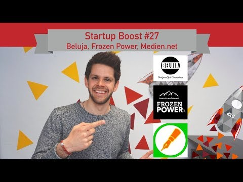 Startup Boost #27: Beluja, Frozen Power, Medien.net