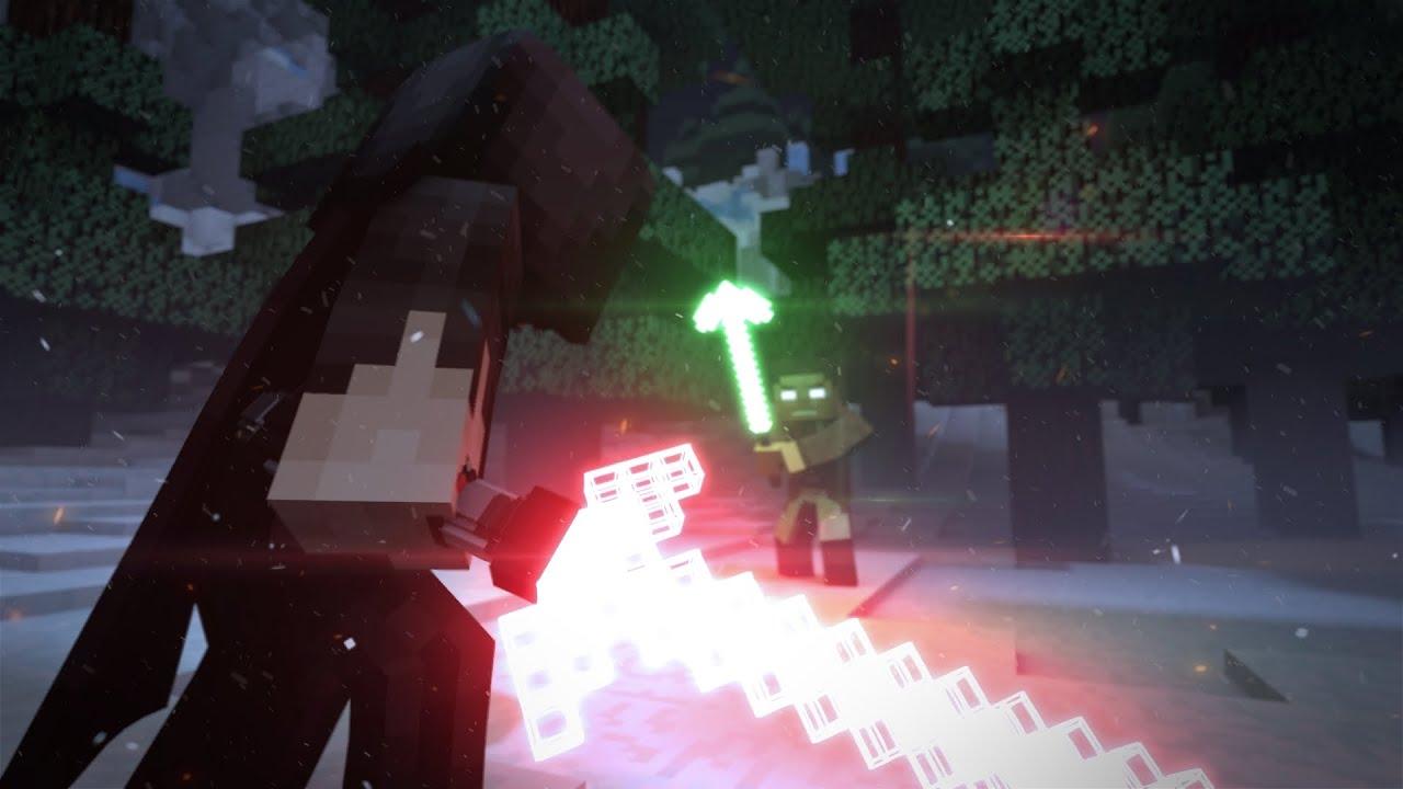 3d Fire Name Wallpaper Minecraft Star Wars Into A Dark Dawn Minecraft