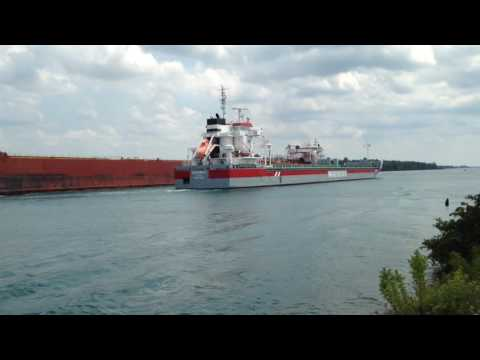 Great Lakes Freighter Presque Isle