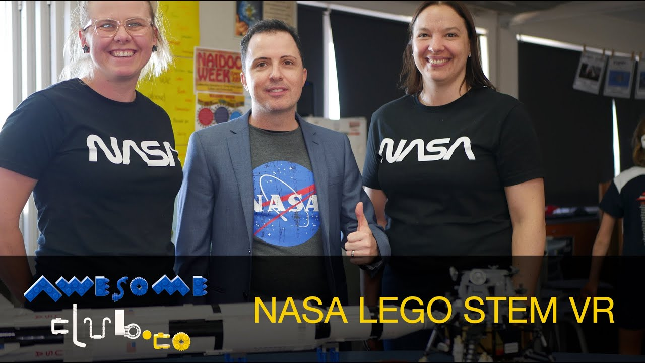 NASA LEGO STEM 3D MODELLING INTO VR