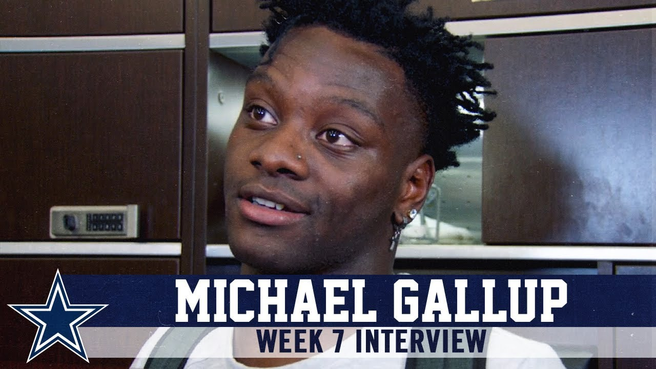 Michael Gallup I Just Need To Catch The Ball Dallas Cowboys 2019