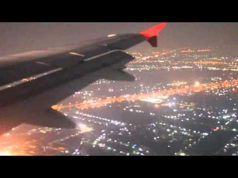 Air Asia Landing สุราษฎ์ ถึง กรุงเทพ