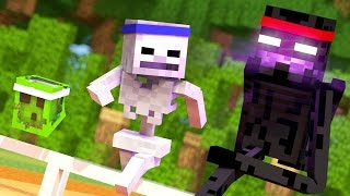 Monster School - SPORTS DAY! (Minecraft Roleplay) #2