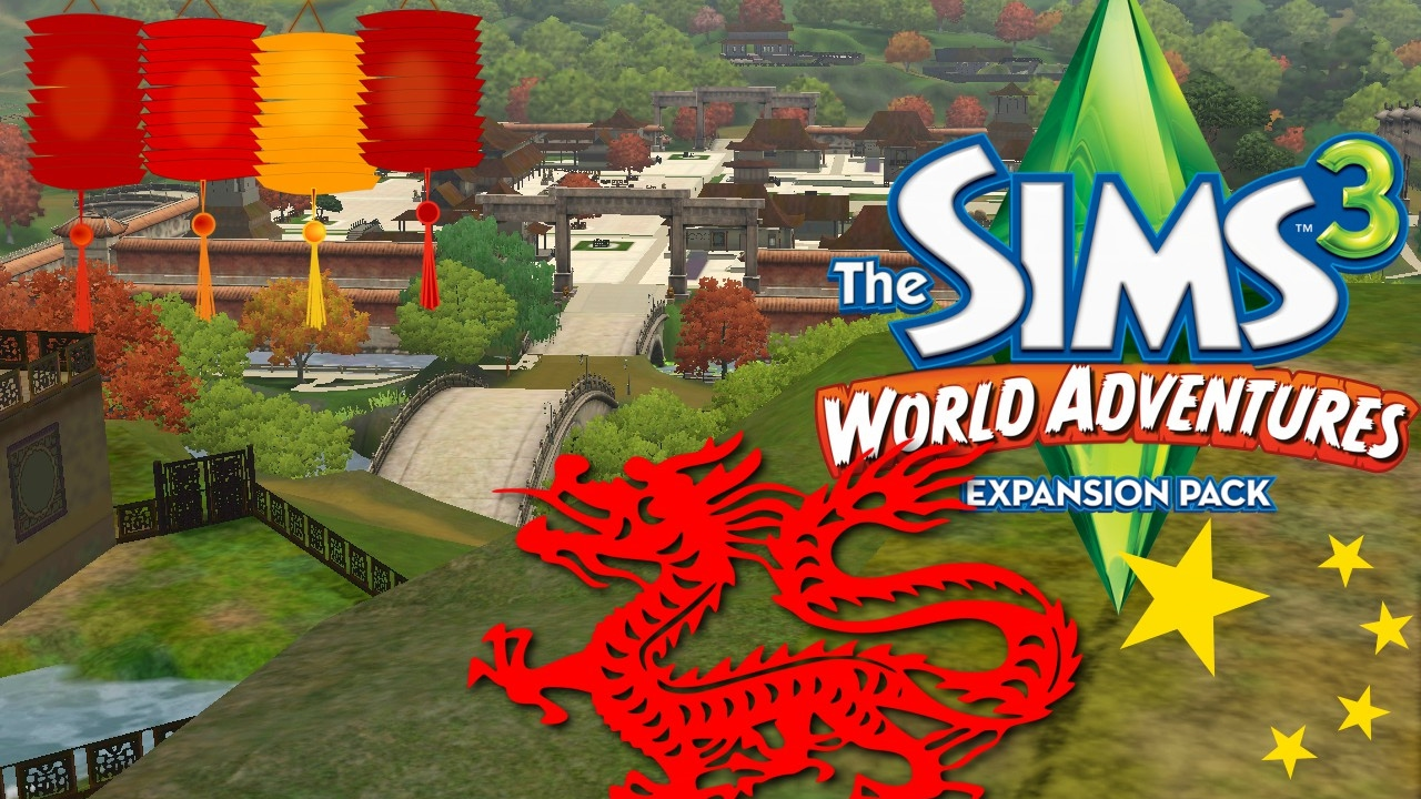 the sims 3 travel adventures ep 2 benvenuti a shang sim la chin chun chan youtube