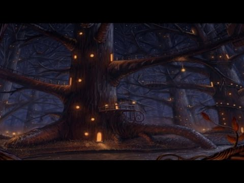 Celtic Music - Night Elf Village