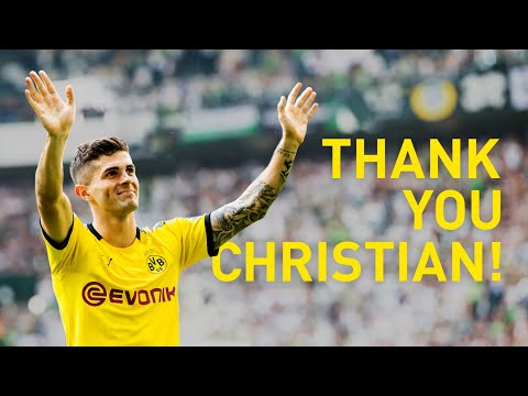 Pulisic's Best Moments at Borussia Dortmund | Thank you, Christian!