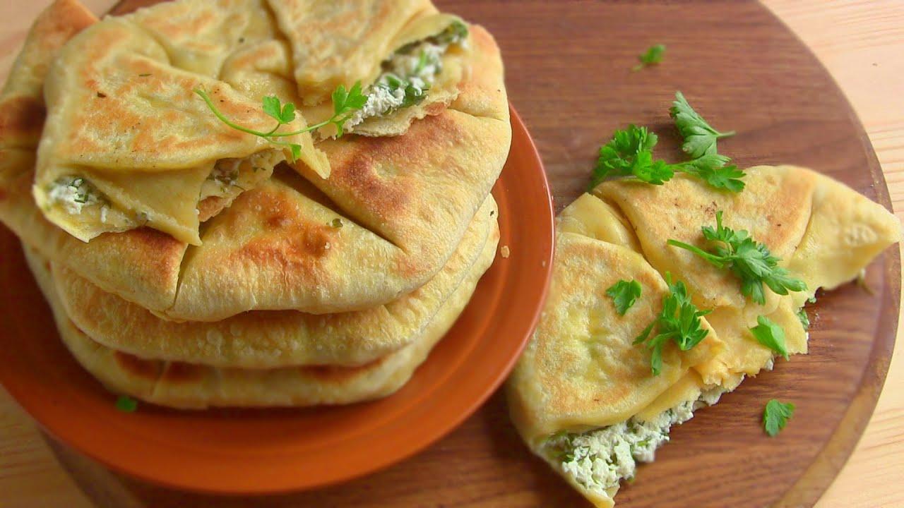 Плацинды с творогом и сыром, Блюда по-домашнему с фото по шагам рецепта картинки