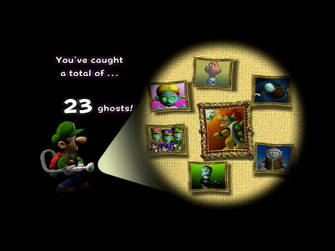 All Portrait Ghosts and Boss Battles with Gold Portraits: Luigi's Mansion