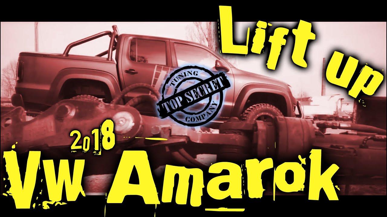 lift up vw amarok lug tread tires 2018 top secret. Black Bedroom Furniture Sets. Home Design Ideas