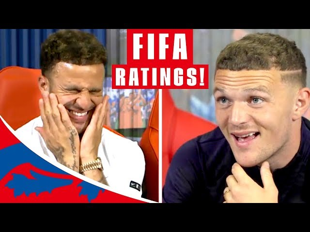 """Walker & Trippier Guess their FIFA 19 Stats! 