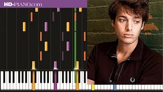 How to play Paolo Nutini Ten out of ten   Piano tutotial  100% speed