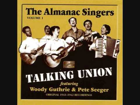 almanac singers - i ride an old paint