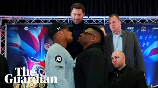 Anthony Joshua: 'I'm going to strip Jarrell Miller of his soul'