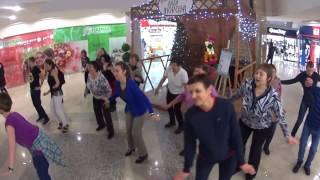 Сыктывкар зажигает! танец ТВИСТ на флэшмобе ХАЛИ ГАЛИ в ТРЦ