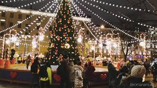 Рождественская ярмарка на Манежной 2019-2020 Санкт-Петербург