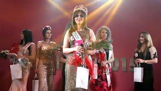 شاهد ما حدث أثناء تتويج ملكة جمال العراق 2015
