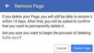 How to Delete Facebook Page Permanently 2019 |Delete Facebook Page