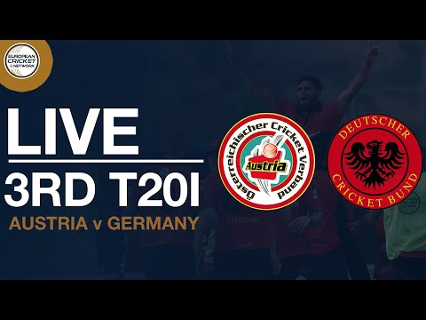 🔴  Live T20 International | Austria V Germany 3rd Women's T20I | Cricket Live Stream