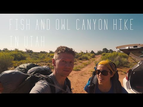 Fish And Owl Canyon Hike In Utah (GoPro+Karma Grip)