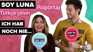 Soy Luna - Karol Sevilla ve Ruggero Pasquarelli ile röportaj Türkçe altyazılı | Digster Pop