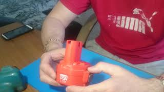 Как разобрать аккумулятор от шуруповерта MAKITA 6270D