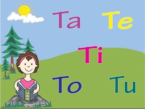 Aprende el Sonido de la Letra T con las Vocales