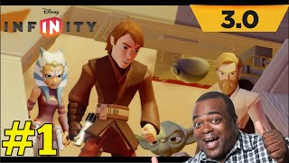 Lets Play DISNEY INFINITY 3.0 STAR WARS: BEST INTRO EVER! [Wii U]