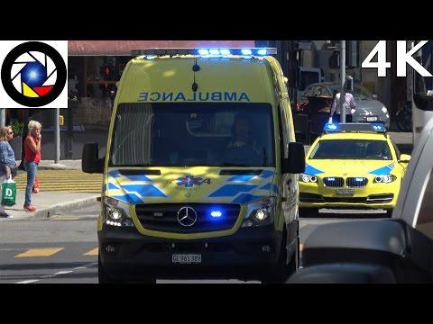 Ambulance 703 & SMUR Genève // EMS Response Geneva