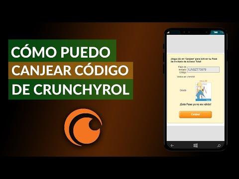 Cómo Puedo Canjear un Código de Crunchyroll