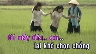 Đò dọc - Karaoke HD - Tone nữ