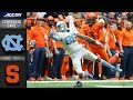 North Carolina vs. Syracuse Condensed Game | 2018 ACC Football