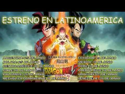 [Trailer Oficial] Dragon Ball Z La Resurreccion De Freezer(Fukkatsu No F) Español Latino
