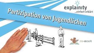 Partizipation von Jugendlichen einfach erklärt (explainity® Erklärvideo)