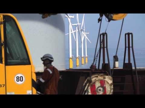 EDF Windfarm   Teesside