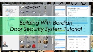 Garry's Mod Darkrp Building With Bordian Ep.6 - Door Security System Tutorial [noob Friendly]