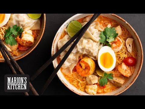 Thai Tom Yum Noodle Soup - Marion's Kitchen