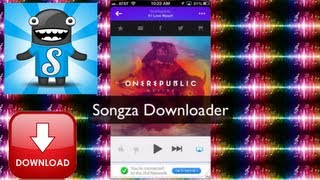 ios Songza Downloader 1.0 Free offline Music Ripper
