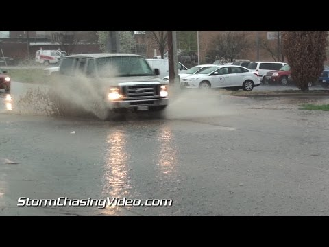 4/7/2015 Carbondale, IL Severe Storm And Ponding Water
