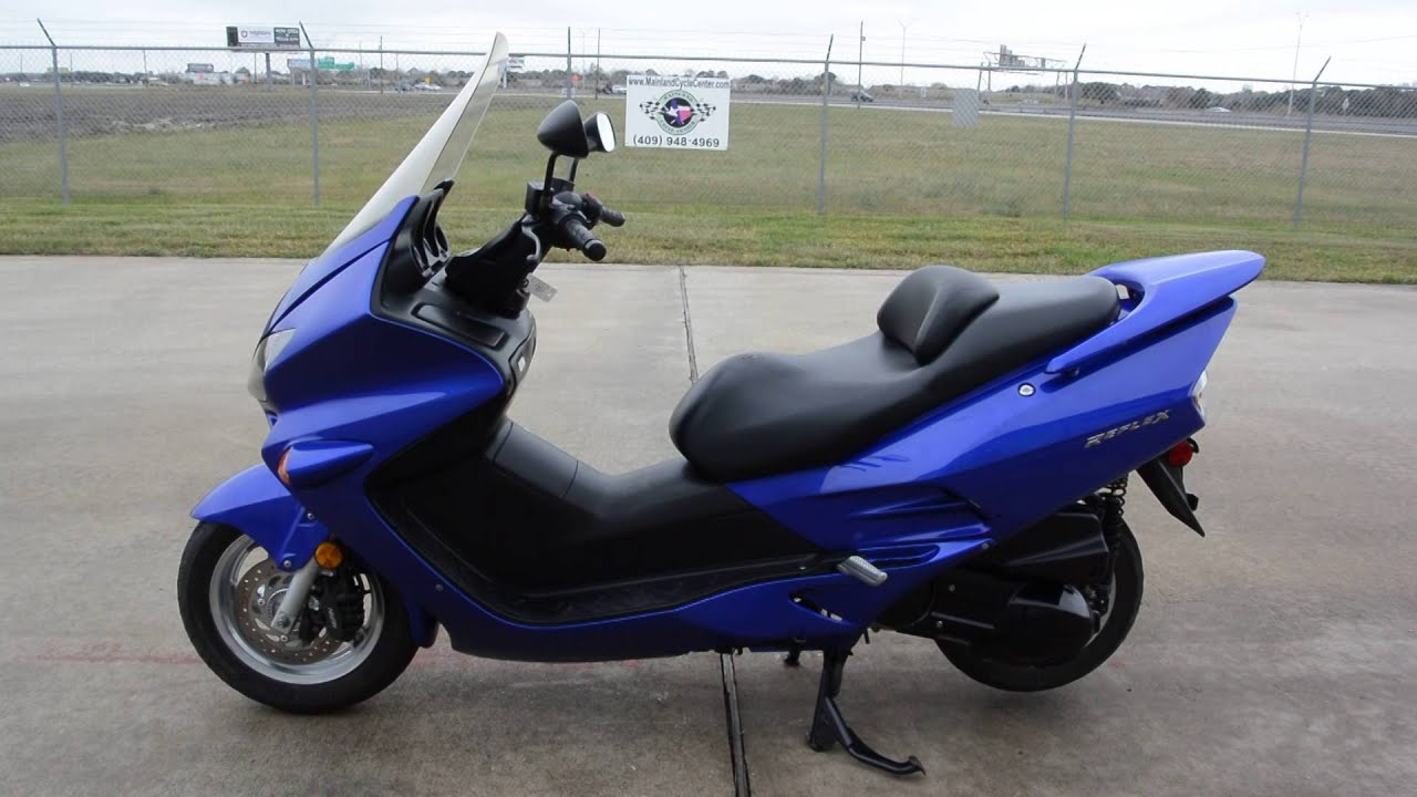 For Sale $2,699: Pre Owned 2006 Honda Reflex 250 ABS Candy Blue ...