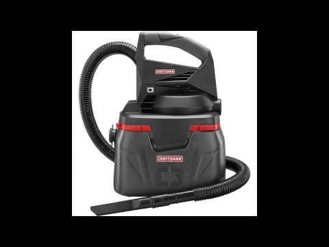 Craftsman 6 Gallon Wet/Dry Vac Tackles Small To Medium Jobs