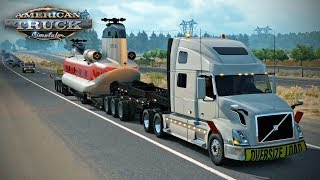 American Truck Simulator - Episode 75 - Helicopter Delivery (Special Cargo DLC)
